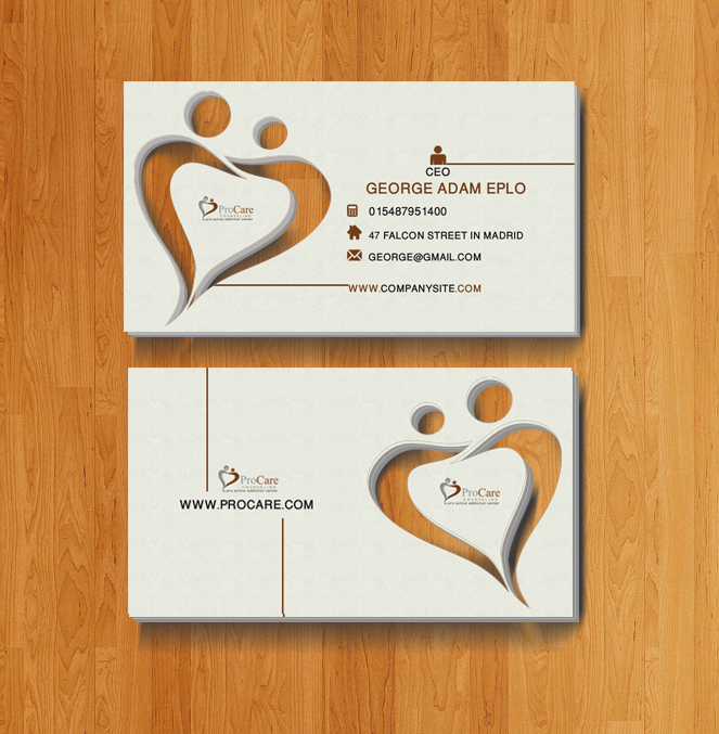upmarket serious credit card business card design for a company by