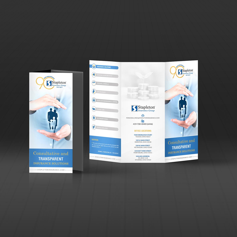Modern, Upmarket Flyer Design for Stapleton Insurance Group by ...