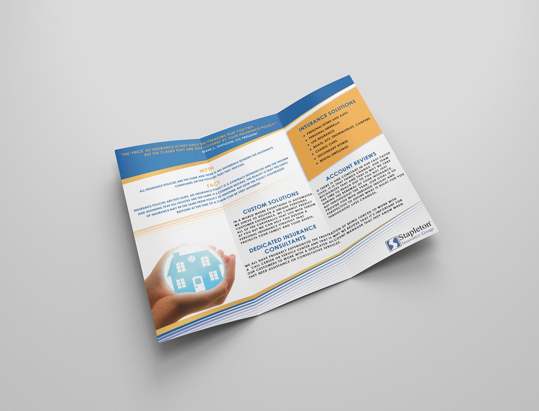 Insurance Flyer Design for Stapleton