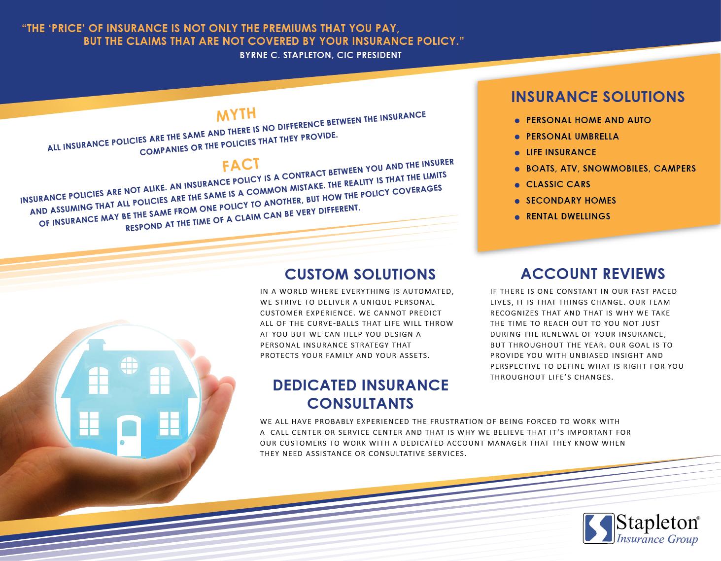 63 Modern Flyer Designs   Insurance Flyer Design Project for ...