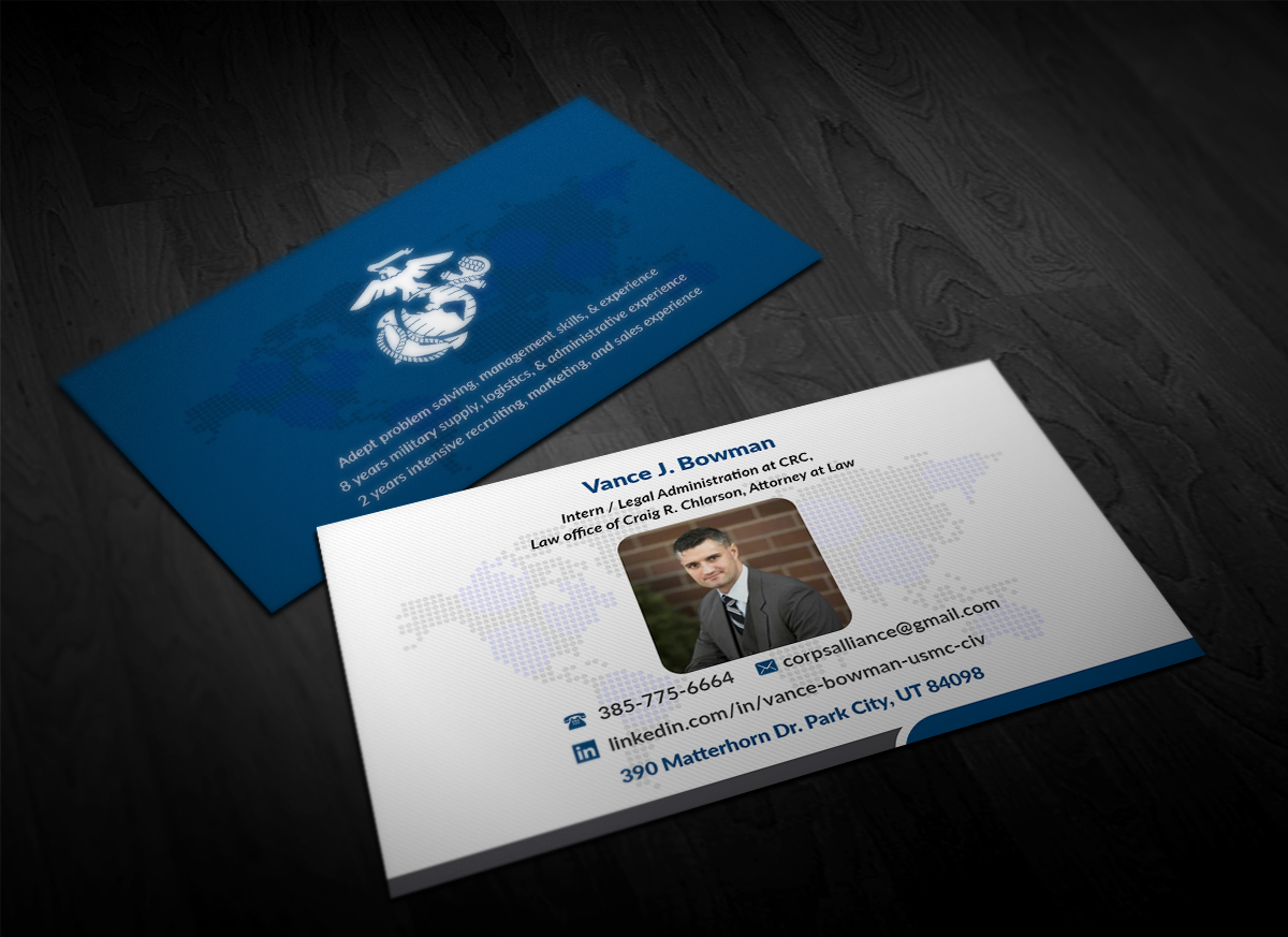 Elegant, Playful, Logistic Business Card Design for a Company by ...