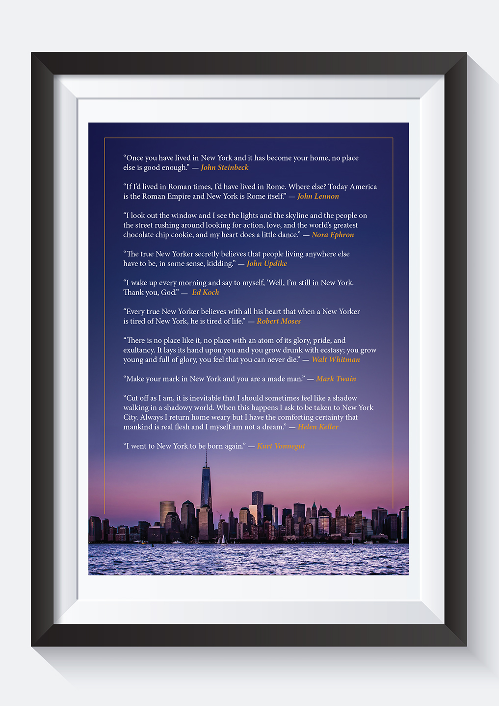 Upmarket Serious Quotes Poster Design For A Company By Andrew3344