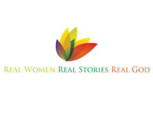 Logo Design job – Real Women Real Stories Touched by a Real God – Winning design by Carla Telésforo