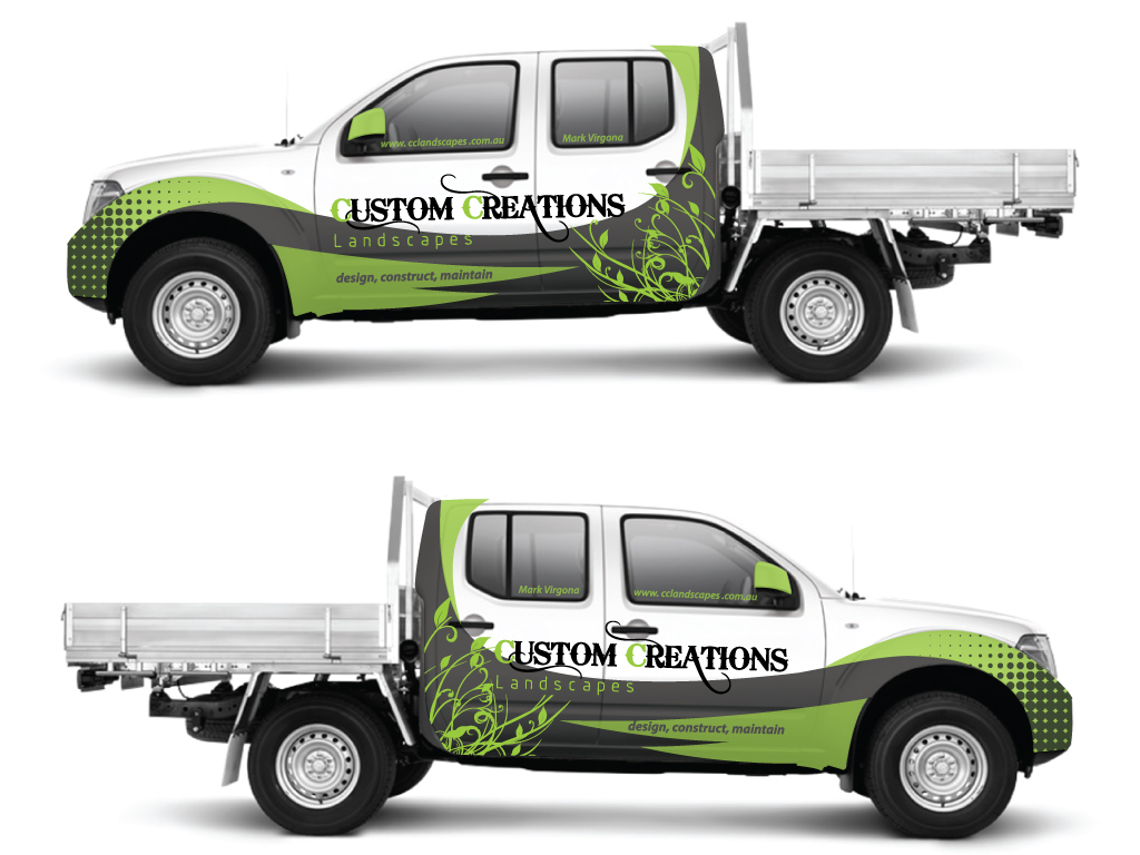Car Graphics Design : Professional modern graphic design for matthew diamond by