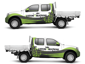 Professional Modern Graphic Designs For A Business In Australia - Modern business vehicle decals