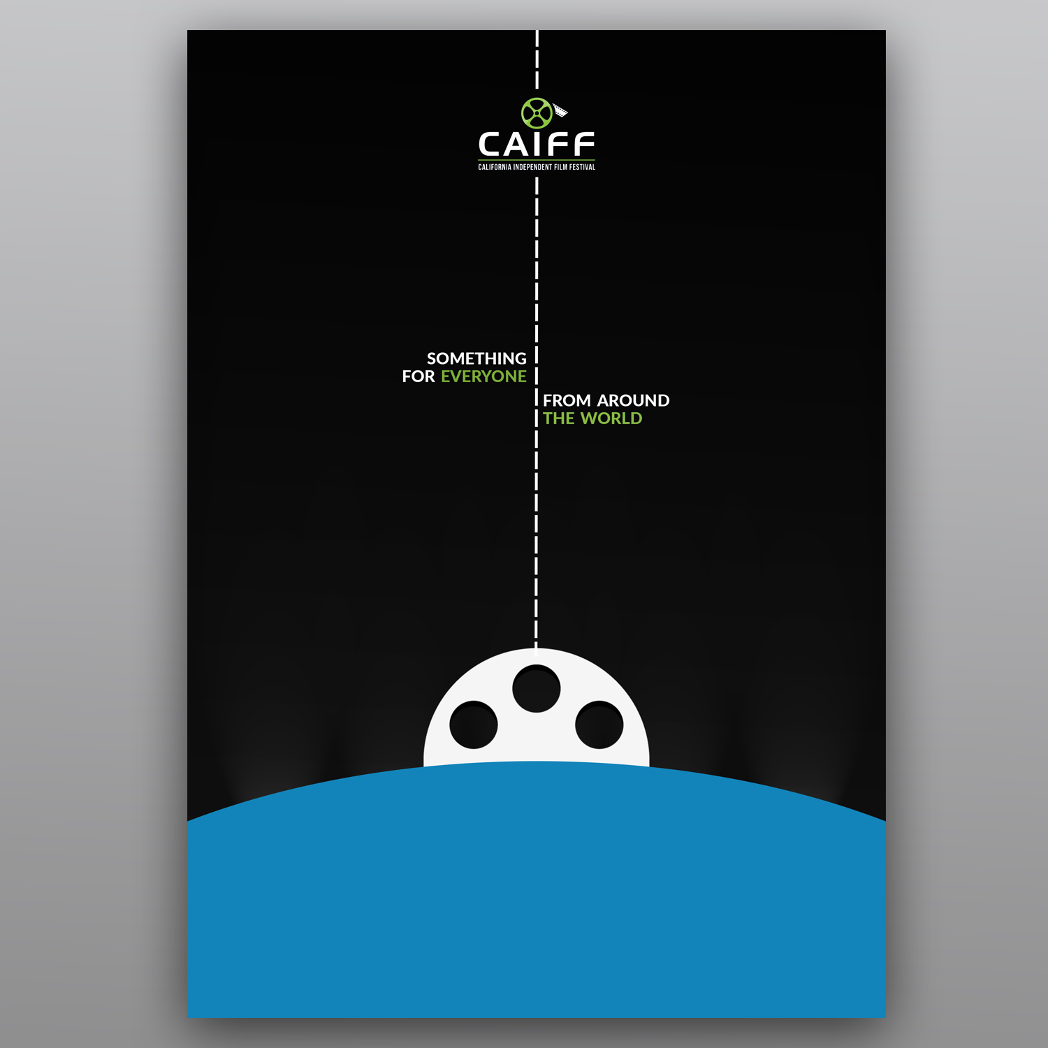 Elegant Modern Movie Poster Design For California Independent Film Festival In United States