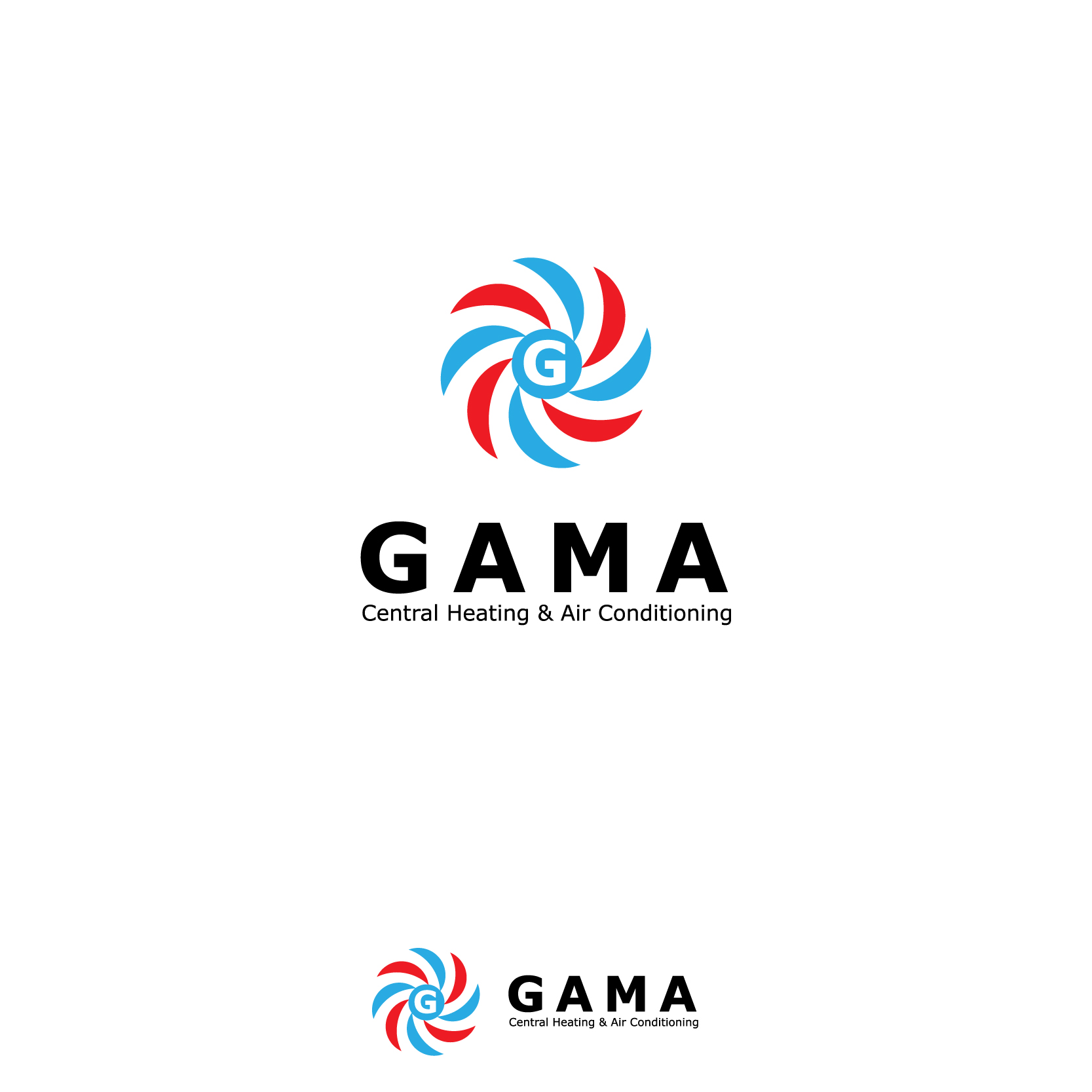 40 professional logo designs for gama central heating