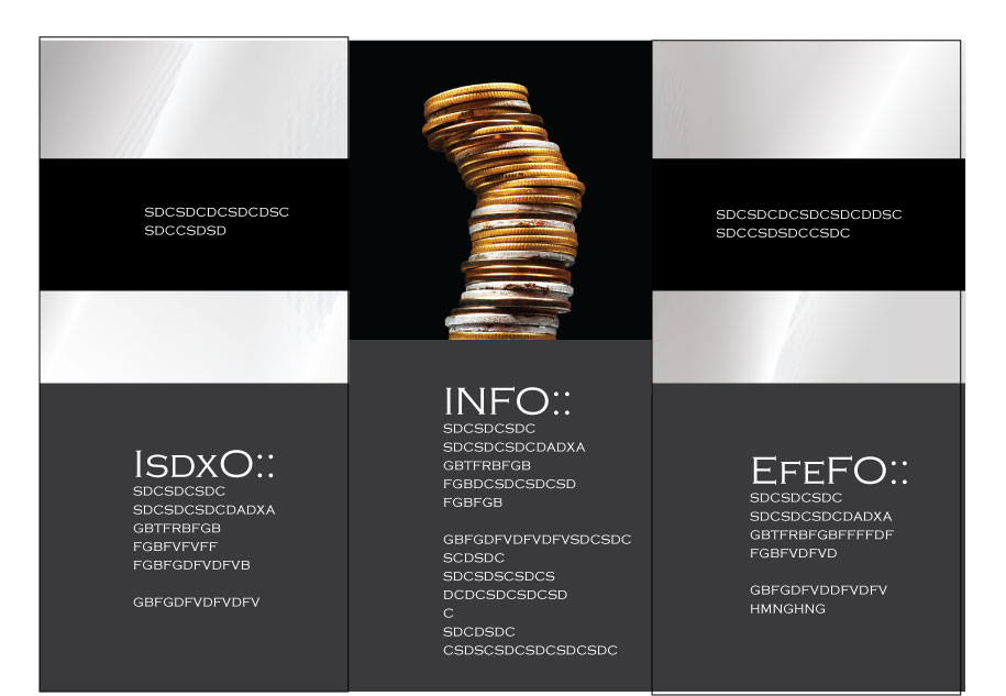 Elegant Professional Brochure Design By Dawliet  Design