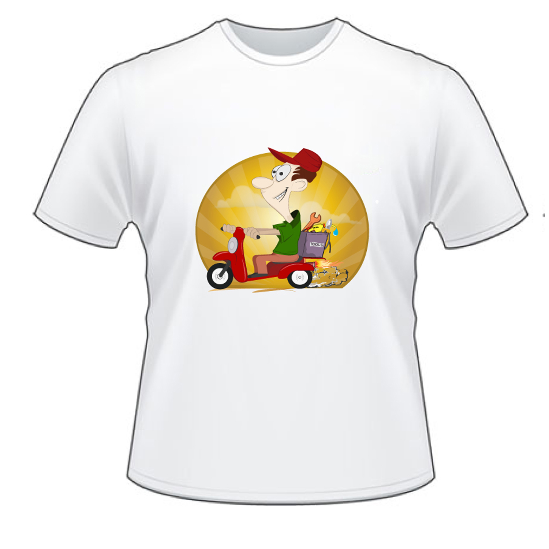 Juguet n vistoso t shirt design for kenner 39 s diesel for T shirt design service