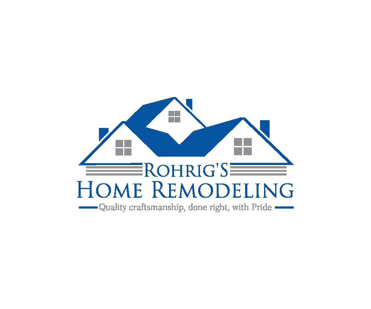 Feminine Elegant Home Improvement Logo Design For Rohrig S