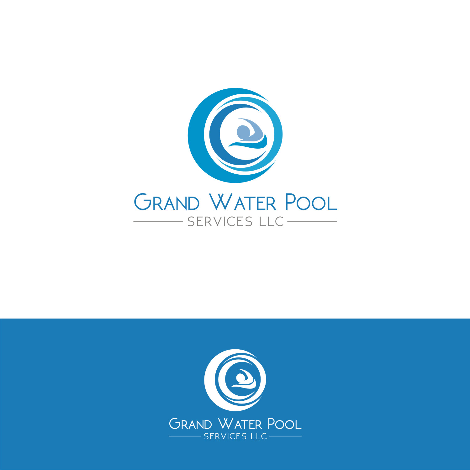 pool service logo. Logo Design By Shakir For This Project | #12363362 Pool Service
