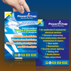 Flyer Design 12275643 Submitted To Electrician Business Needs For Discount Offer