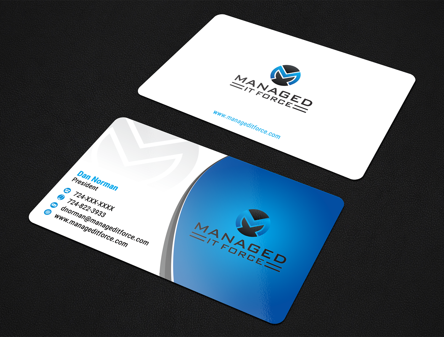 Bold, Modern, Information Technology Business Card Design for ...