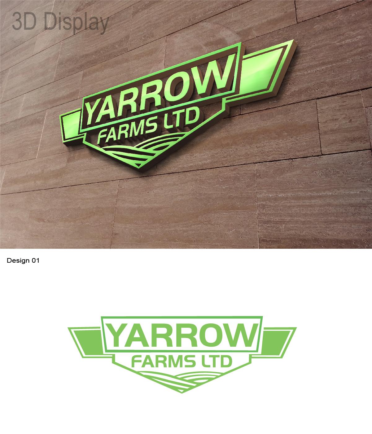 102 Bold Modern Agriculture Logo Designs For Yarrow Farms