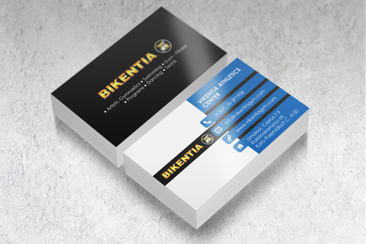 Playful modern business business card design for a company by business card design by black stallions impressive solutions for this project design 12373572 reheart Image collections