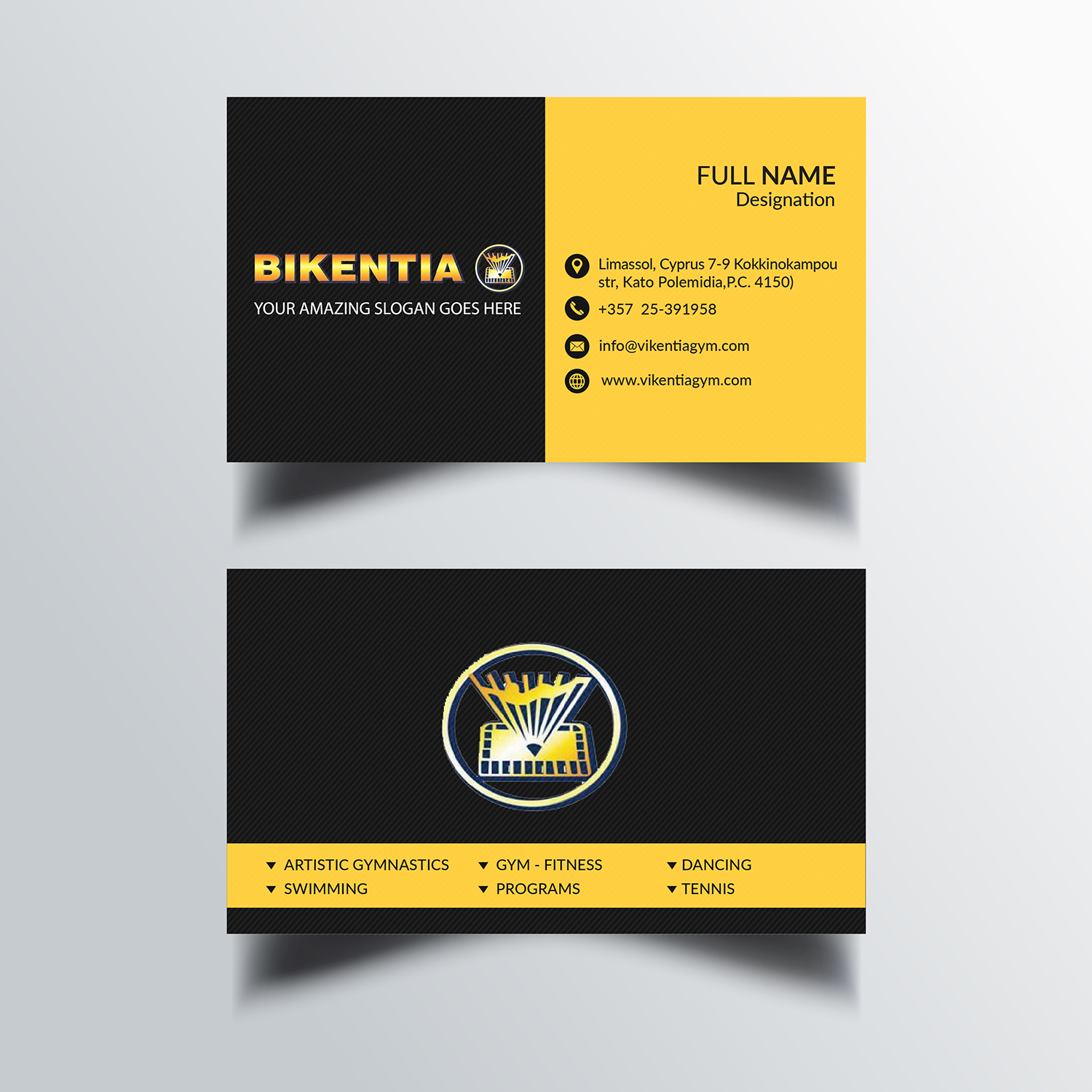 Playful modern business business card design for a company by business card design by bdesigner9 for this project design 12714455 reheart Image collections