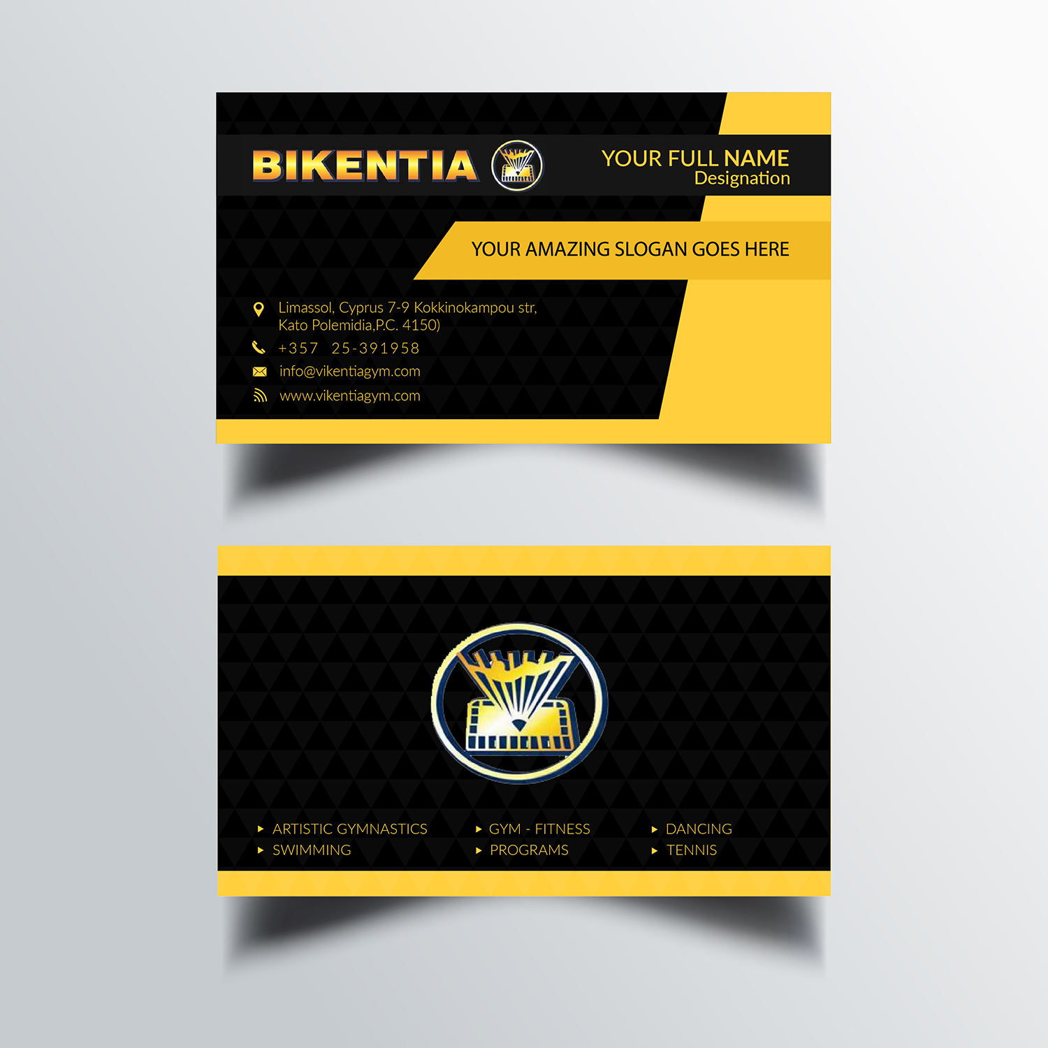 Playful modern business business card design for a company by business card design by bdesigner9 for this project design 12714456 reheart Image collections