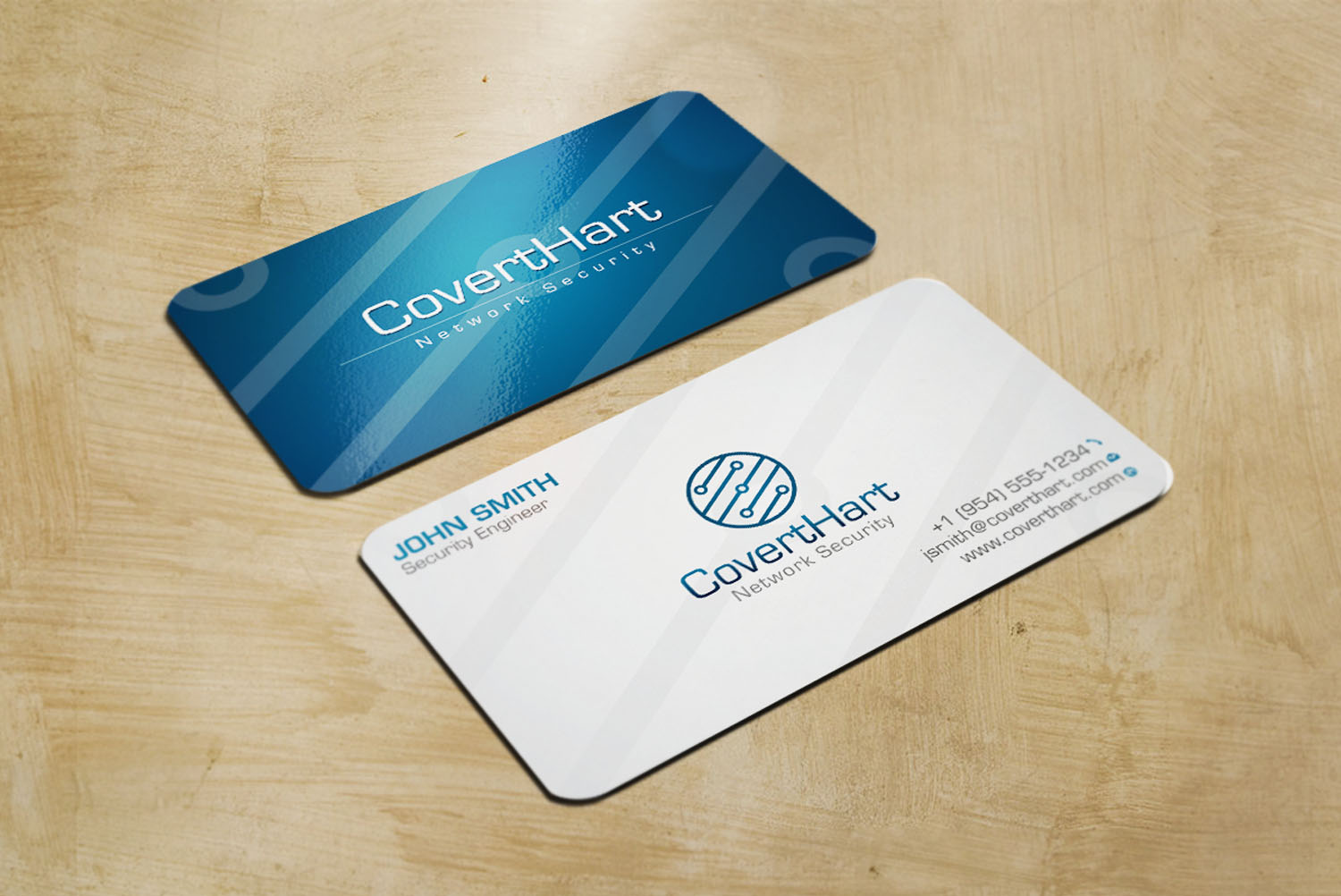 Professional, Elegant, It Company Business Card Design for NELSON ...