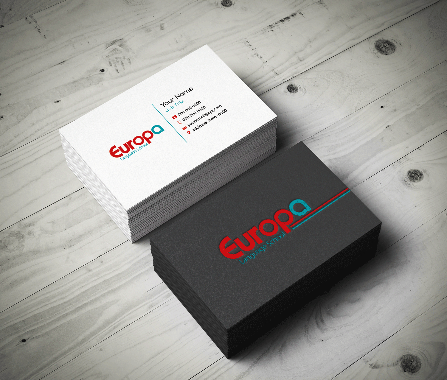Modern professional education business card design for a company business card design by riz for this project design 12302472 colourmoves