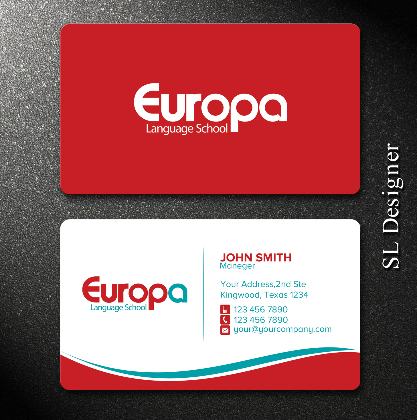 171 Modern Professional Education Business Card Designs for a ...