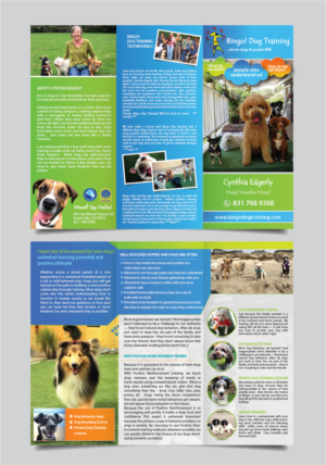 Dog Training Brochure