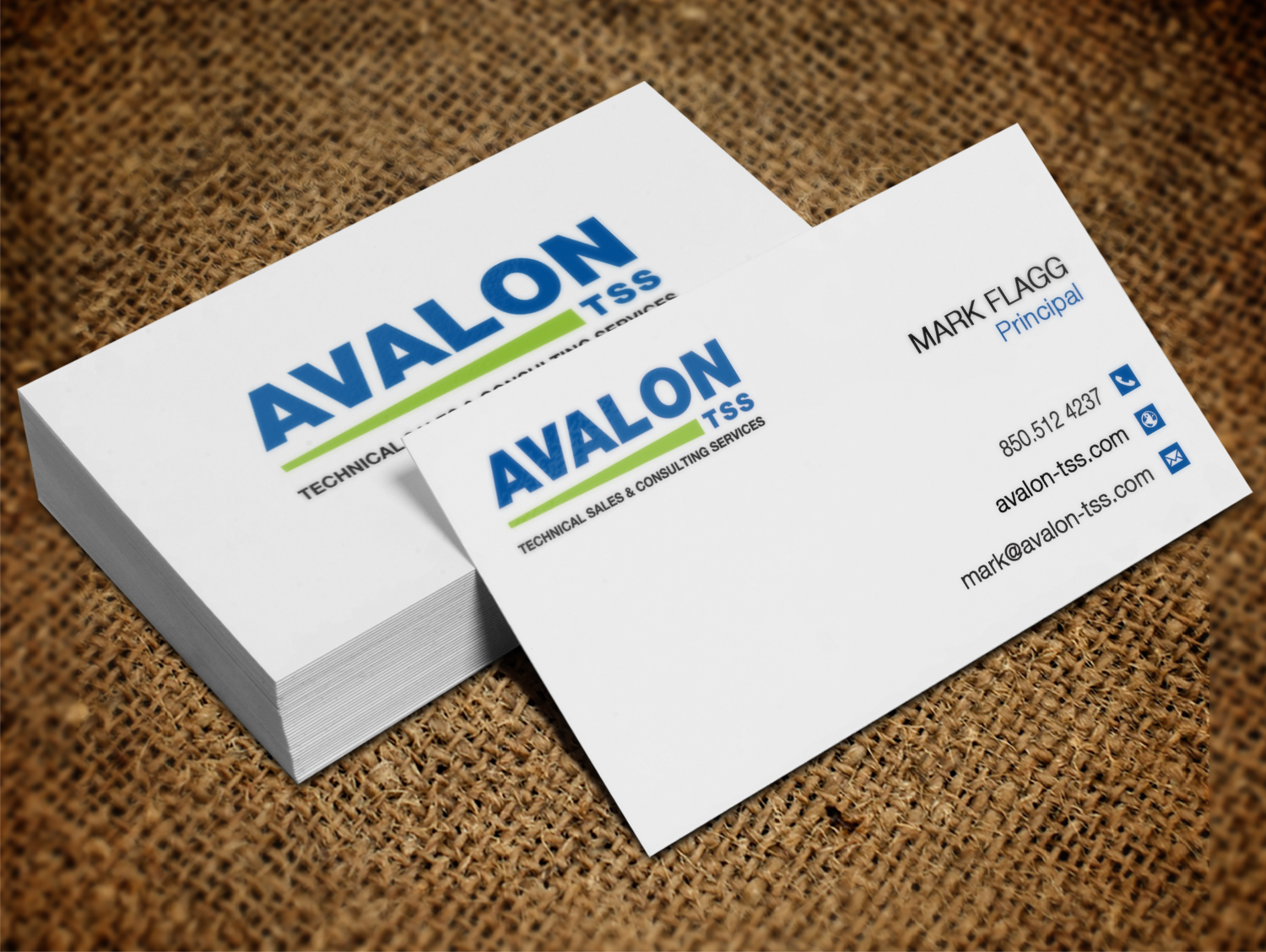 Serious, Professional, It Company Business Card Design for Avalon ...