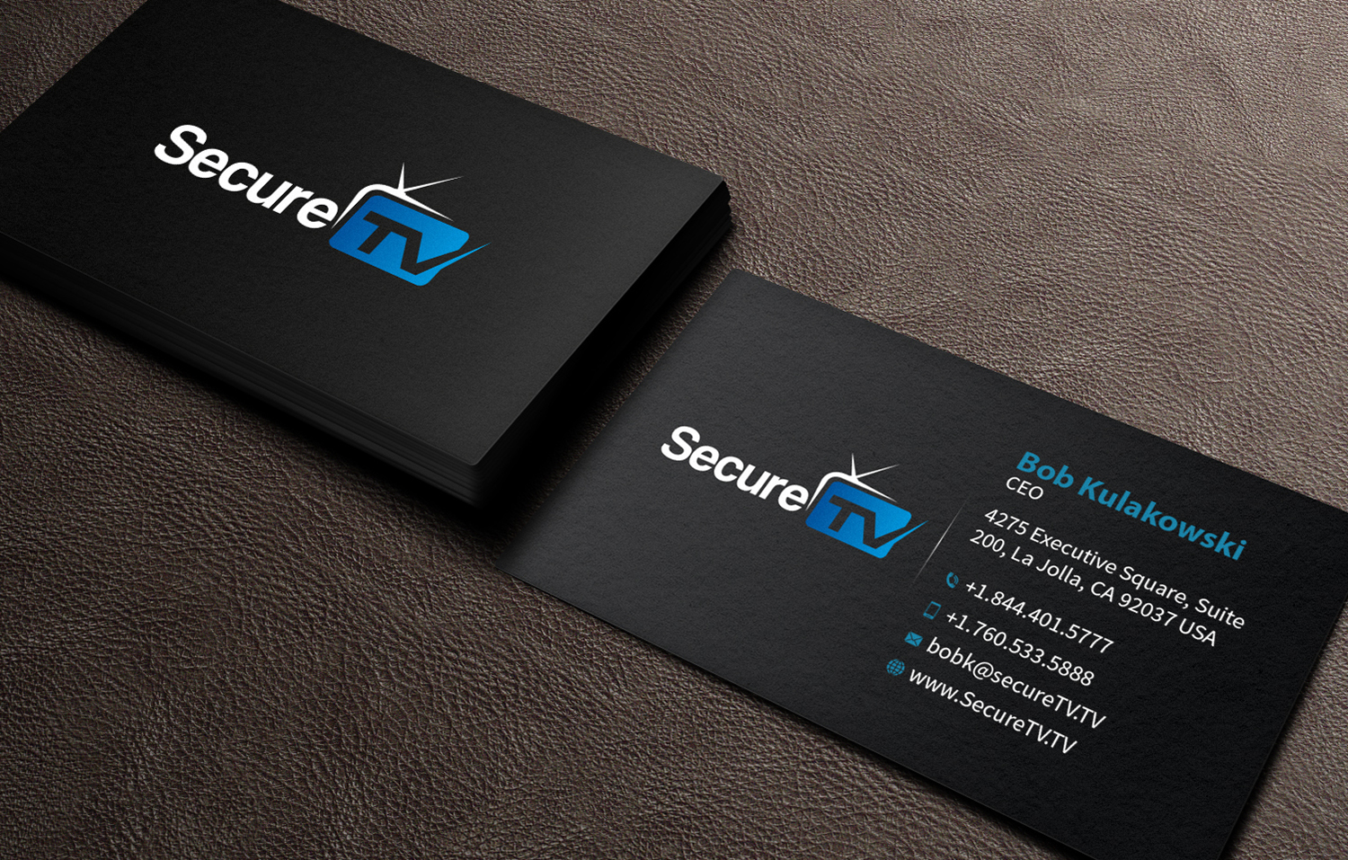 170 professional business card designs cable tv business card business card design by mediaproductionart for secure tv design 12355916 reheart Images