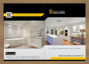 Brochure Design Design 2498259 Submitted To Home Builder Needs An Eyecatching Brochure To