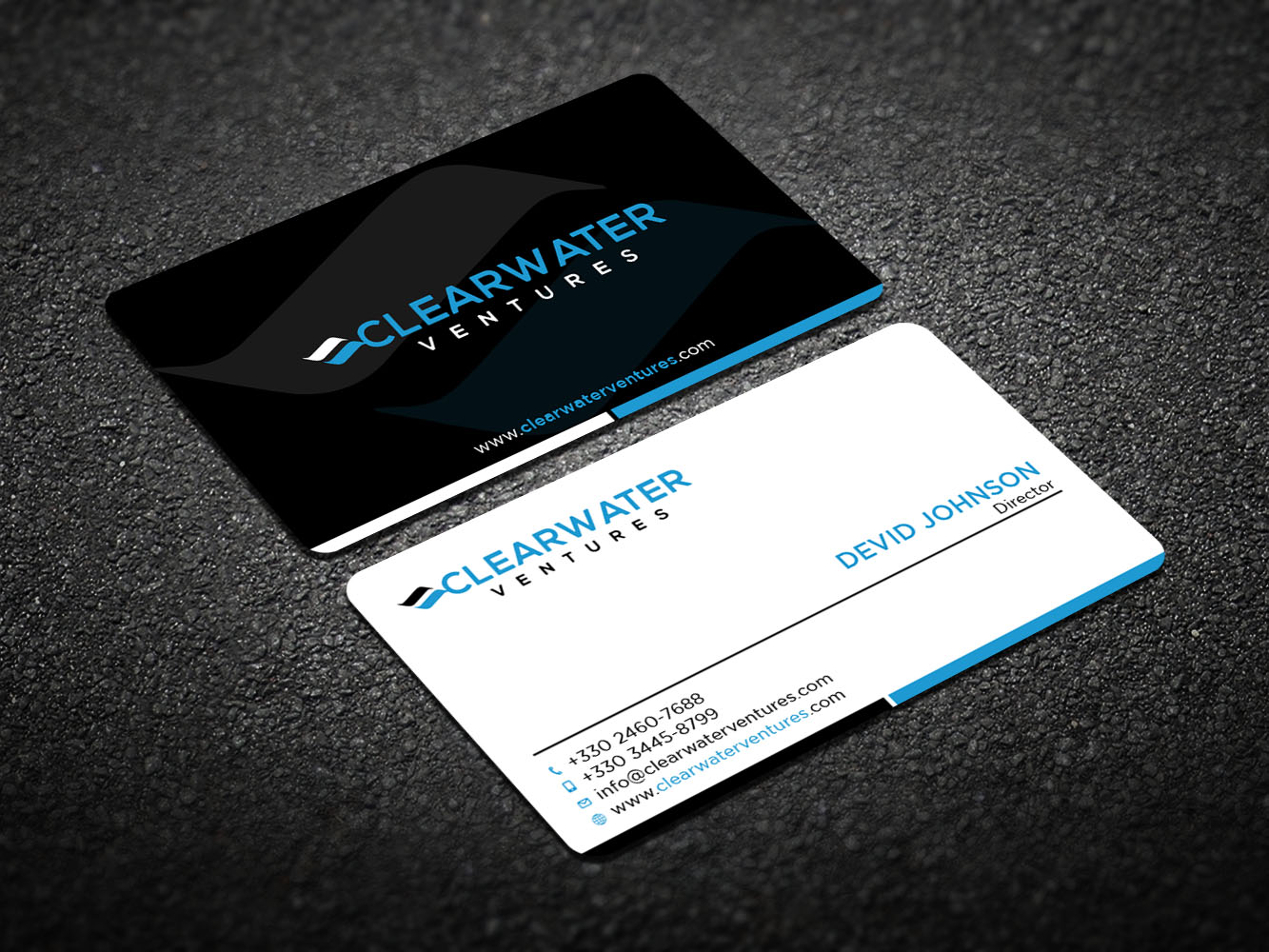 Elegant, Modern, Venture Capital Business Card Design for a Company ...