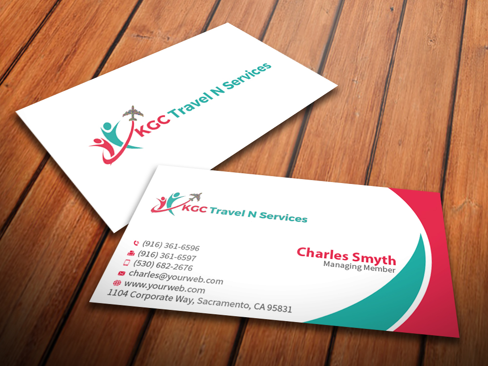Travel Business Card Templates
