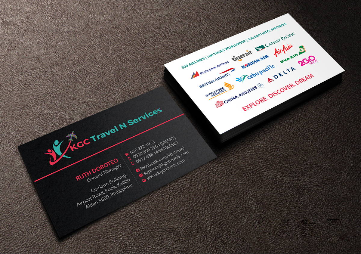 Bold professional business card design job business card brief for business card design job unique name card for travel agency winning design by creations reheart Choice Image