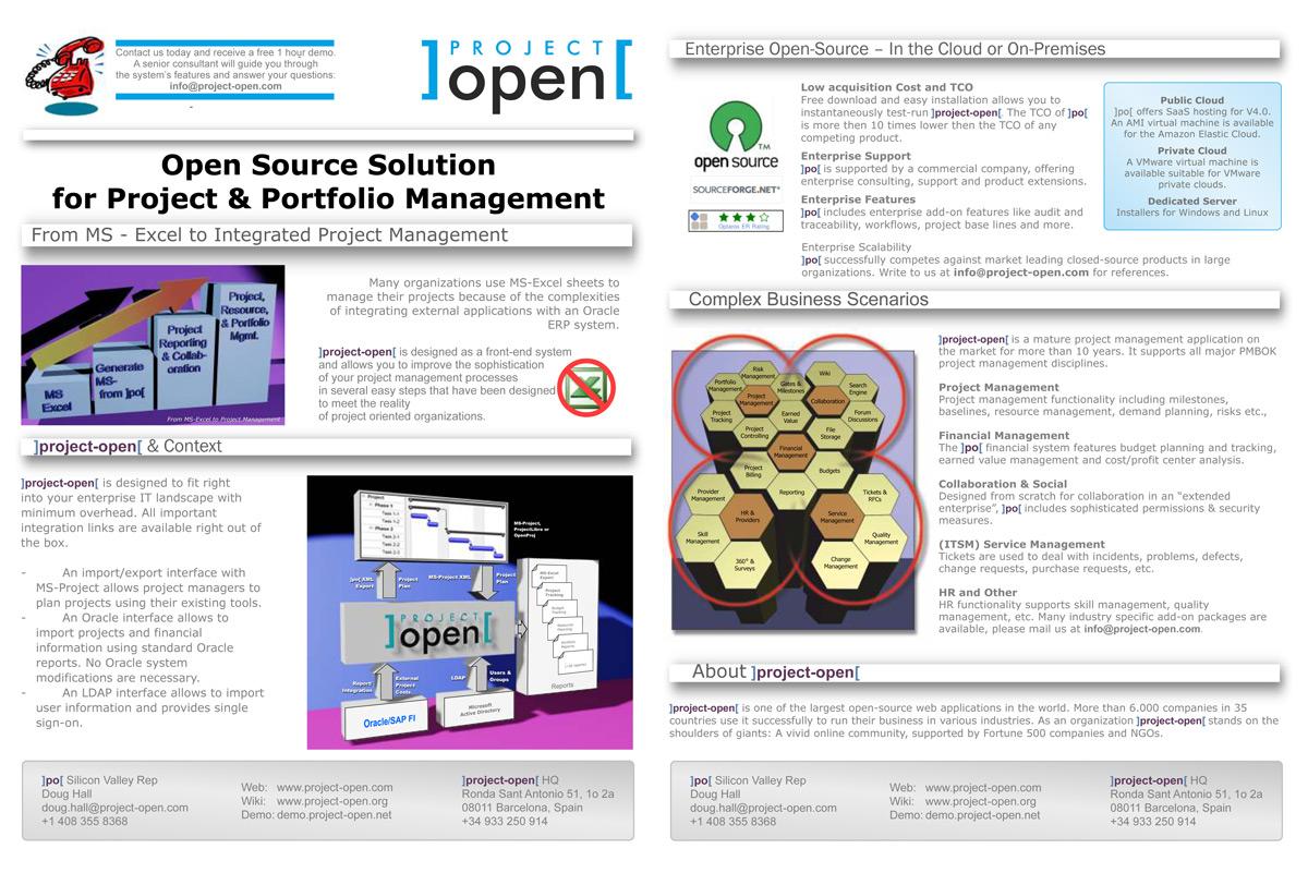 Upmarket Elegant Software Brochure Design For Project Open By Fernando Design 2402023