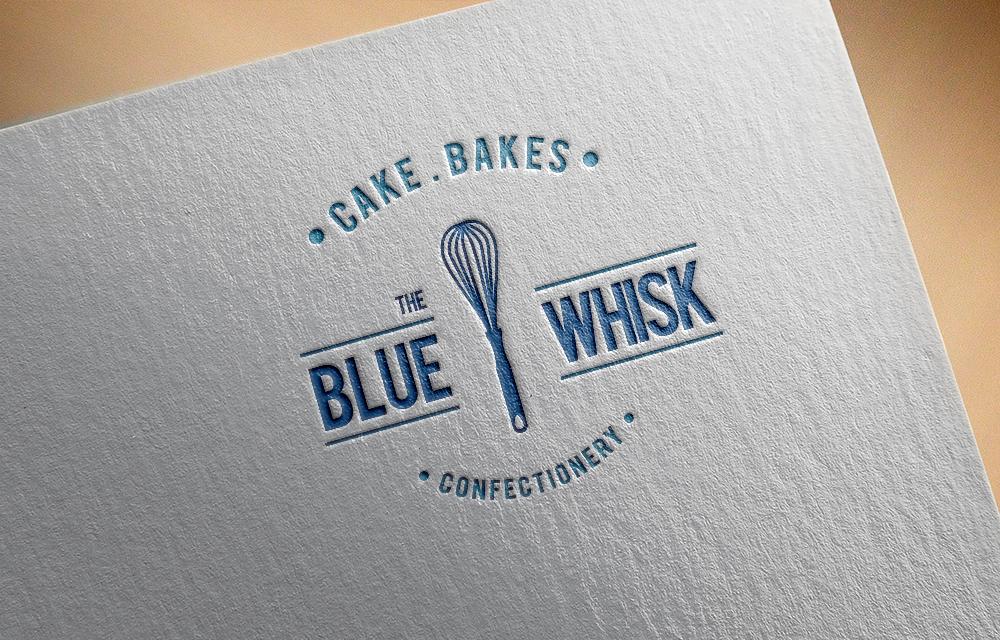 Modern, Playful, Bakery Logo Design for The Blue Whisk
