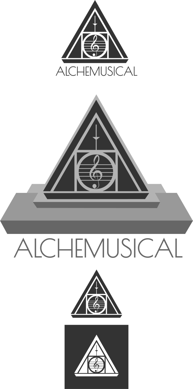 Serious, Modern, Non-Profit Logo Design for Alchemusical by