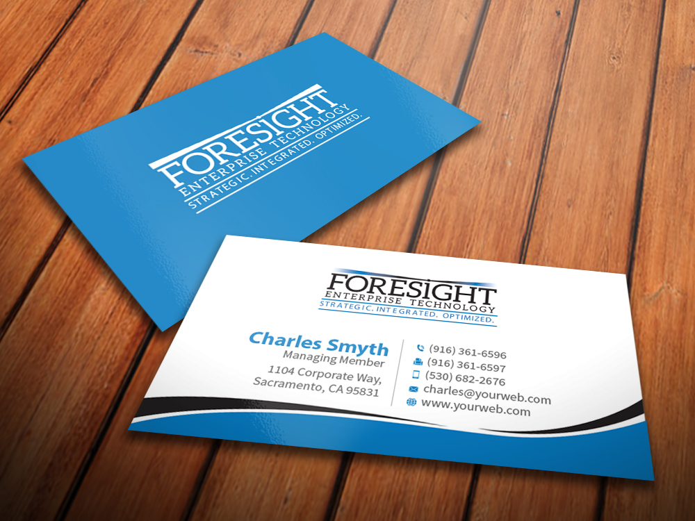 147 Bold Modern Information Technology Business Card Designs for a ...