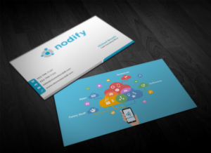 174 traditional business card designs software business card business card design by pointless pixels india for nodify eu design 12357819 reheart Image collections