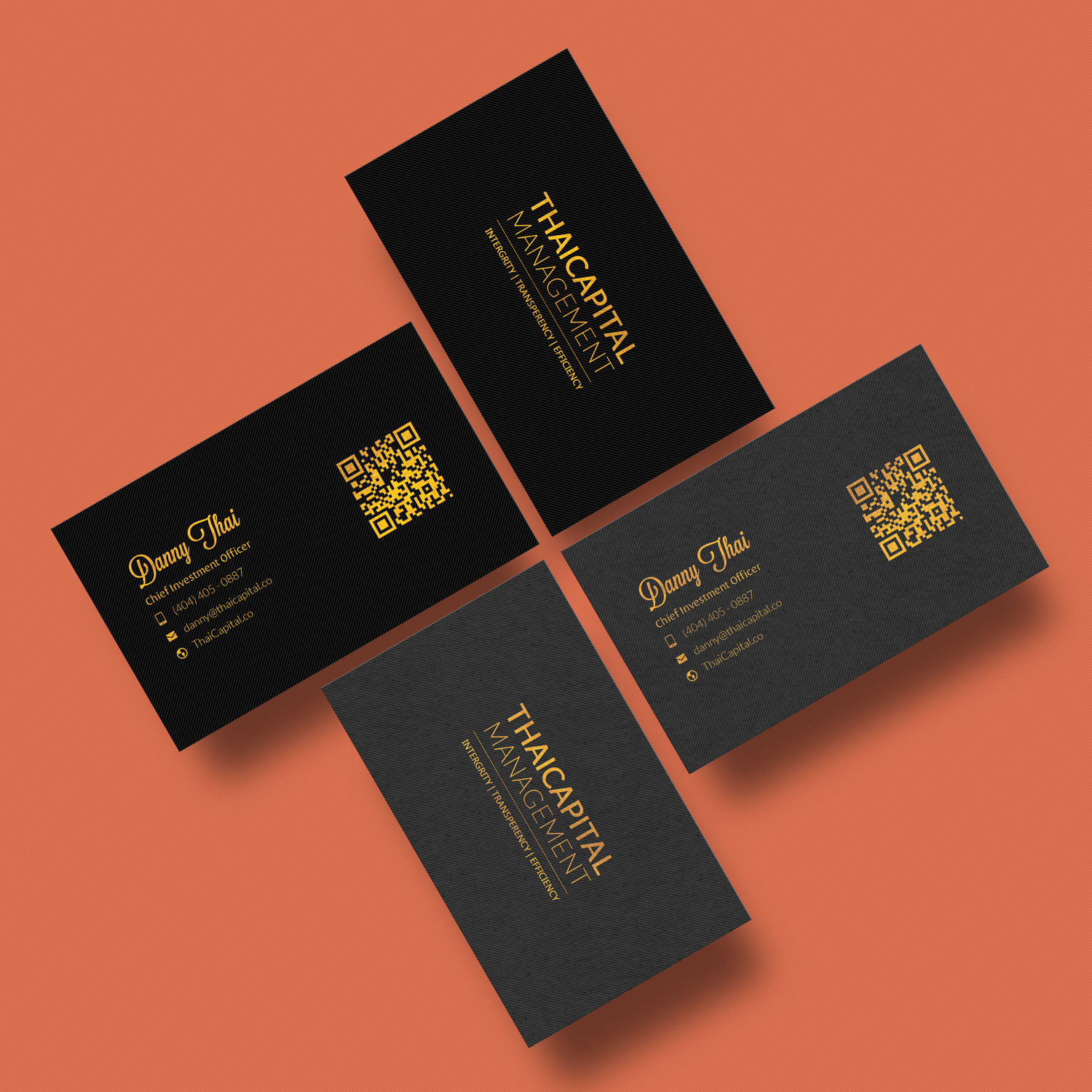 Elegant serious investment business card design for thai capital business card design by kalingaraj for thai capital management design 12449503 reheart Images