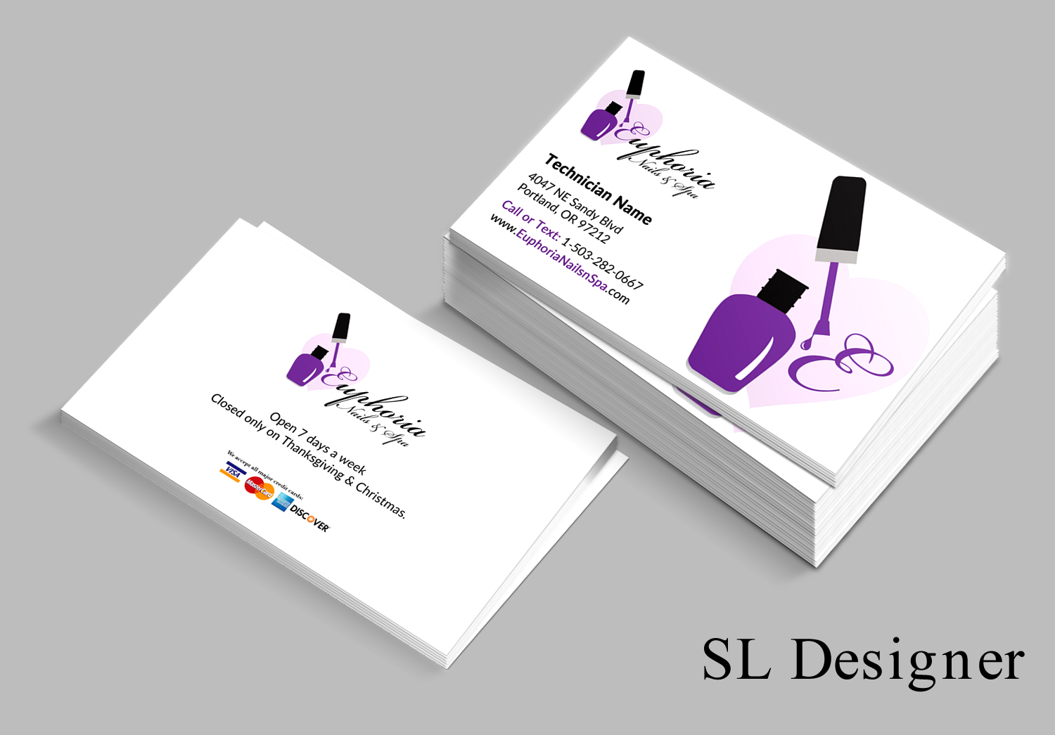 Traditional Business Card Gallery - Business Card Template