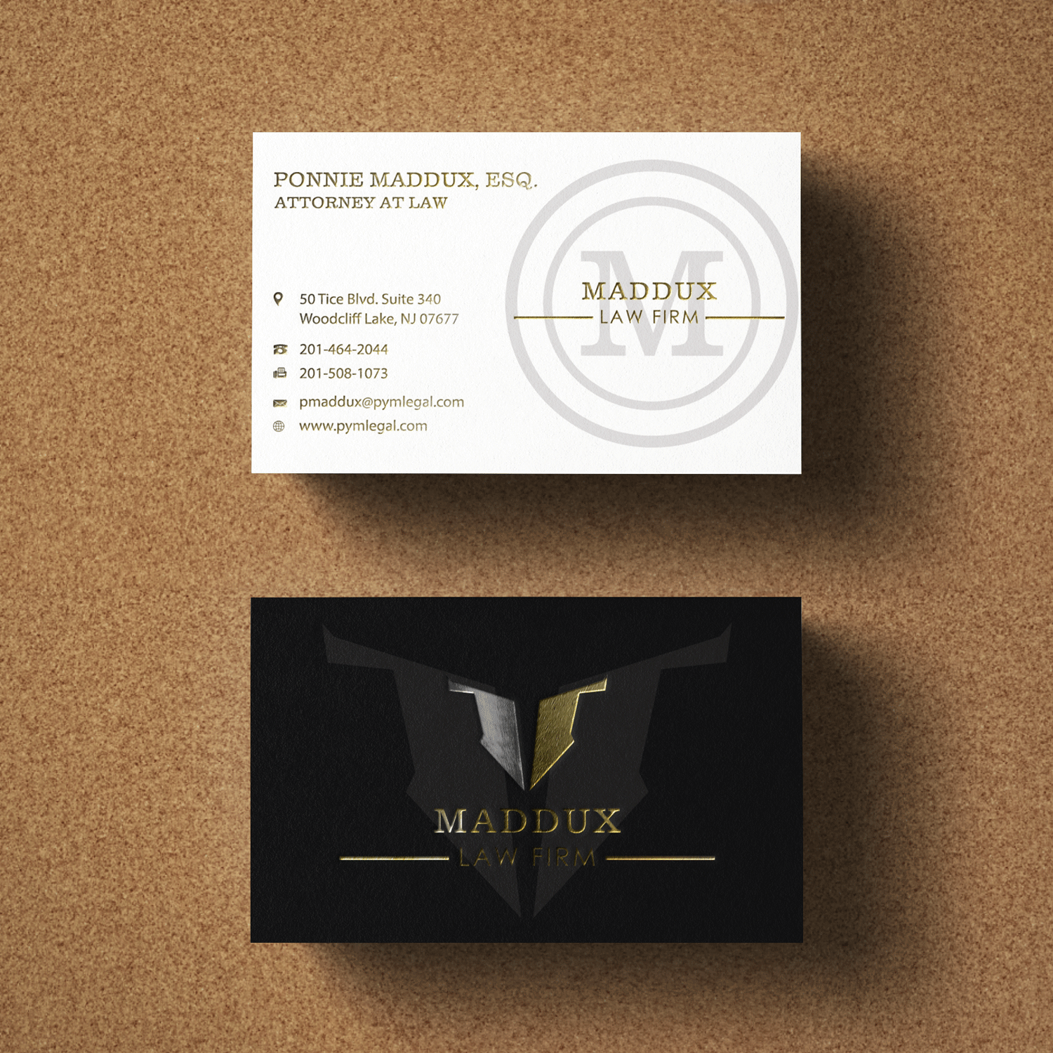 Serious, Professional Business Card Design for ponnie by Riz ...