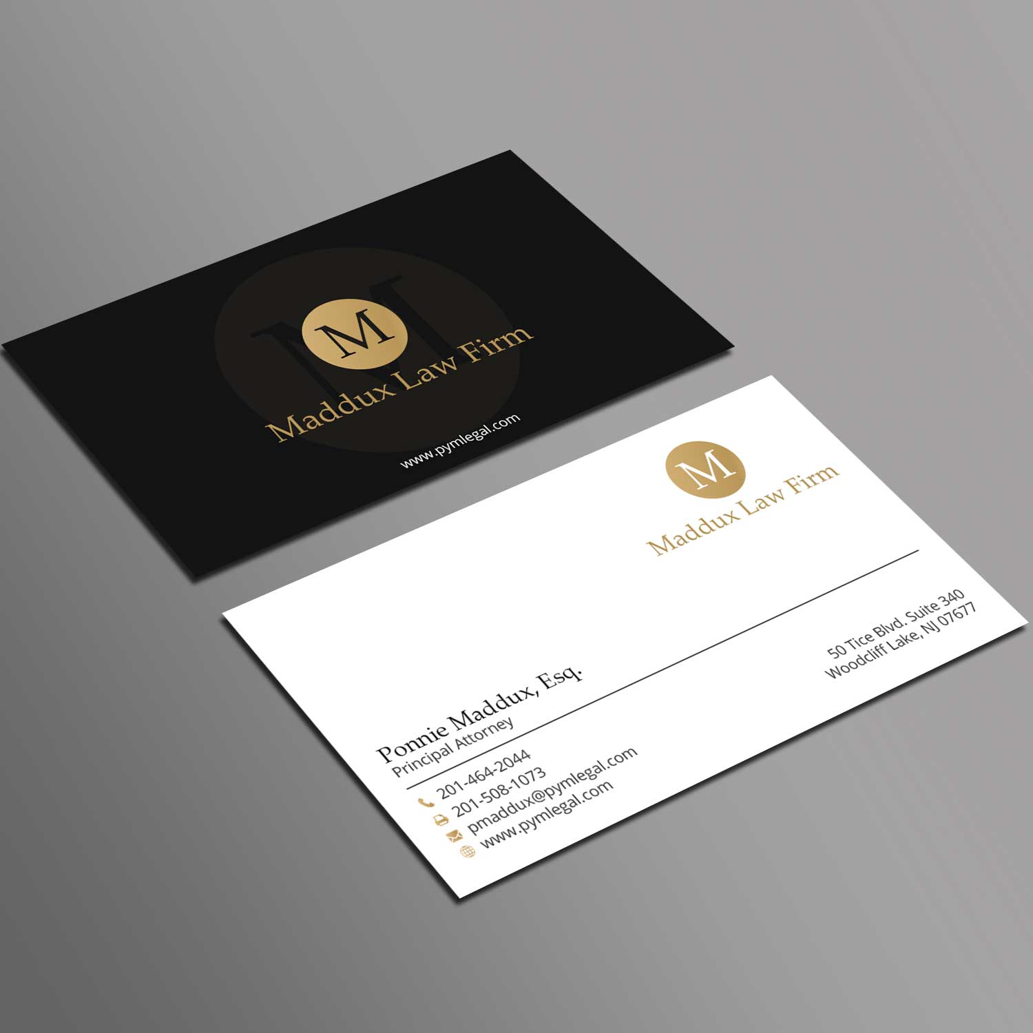 Serious, Professional, Lawyer Business Card Design for a Company by ...