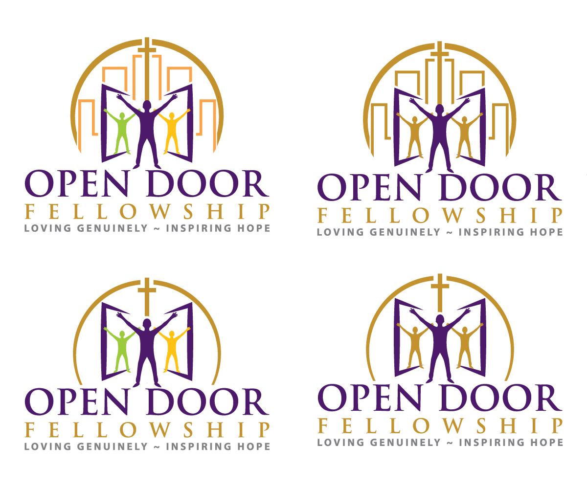 Logo Design by sangeloenriquez for Open Door Fellowship - Relaunch Logo - Design #12497693  sc 1 st  DesignCrowd & Bold Modern Logo Design for Open Door Fellowship by sangeloenriquez ...