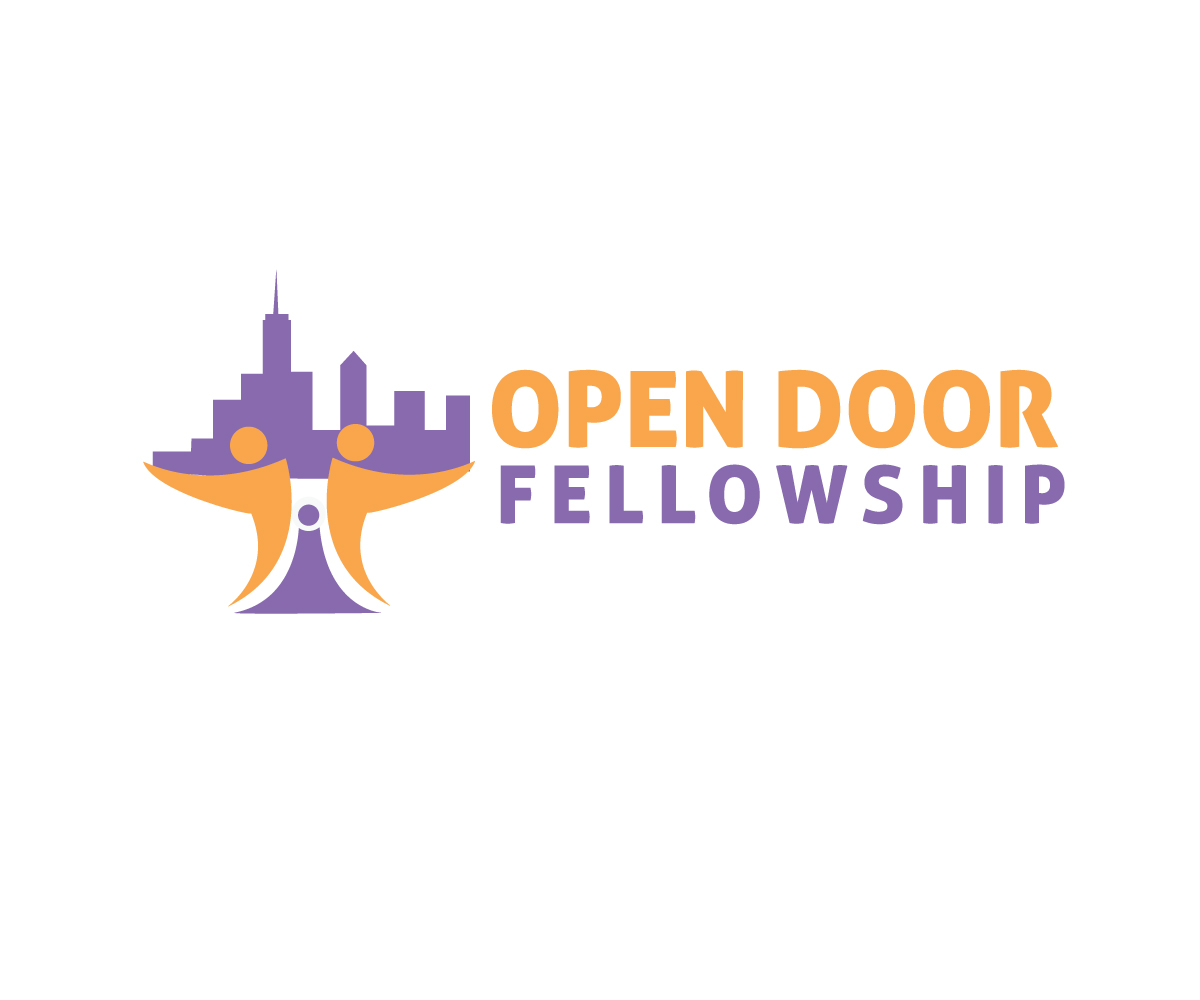 Bold Modern Ministry Logo Design for Open Door Fellowship in United States | Design 12373463  sc 1 st  DesignCrowd & Bold Modern Ministry Logo Design for Open Door Fellowship by ...