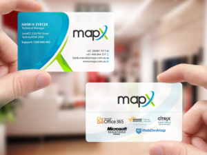 bold playful card design job card brief for mapx systems a