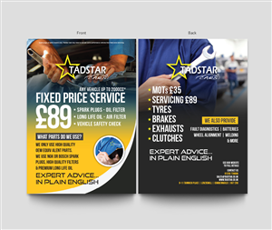 Flyer Design by Marq - Automotive Repair Centre - Flyer Design