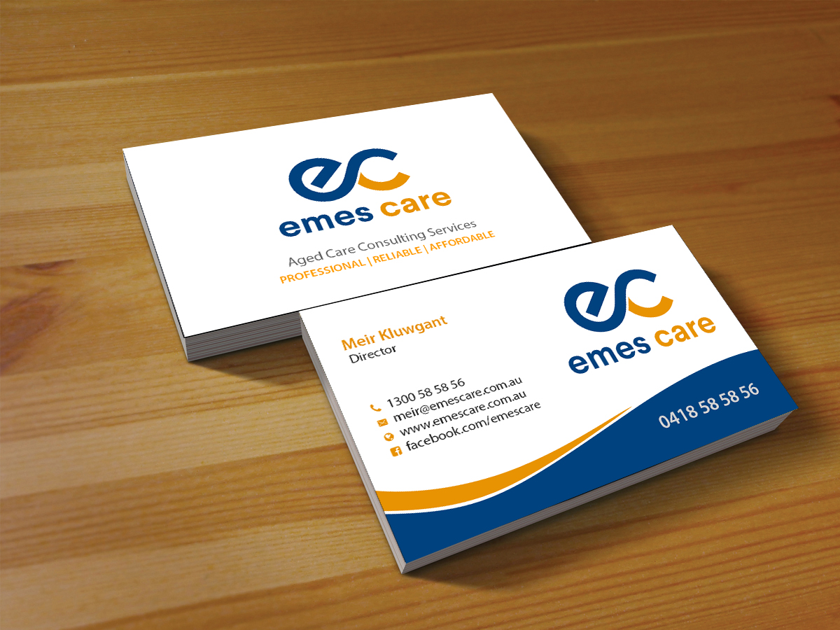 184 professional business card designs health care business card business card design by creations box 2015 for msk enterprises pl design colourmoves