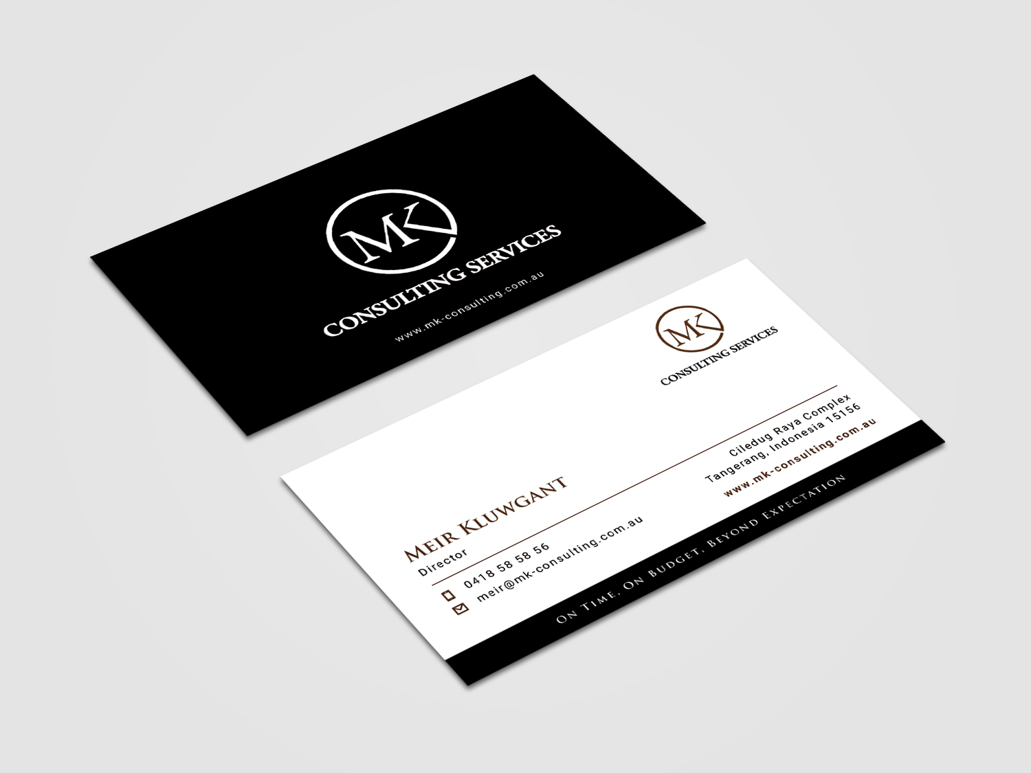 Serious professional consulting business card design for msk business card design by alvinfadoil for msk enterprises pl design 12378620 reheart Gallery