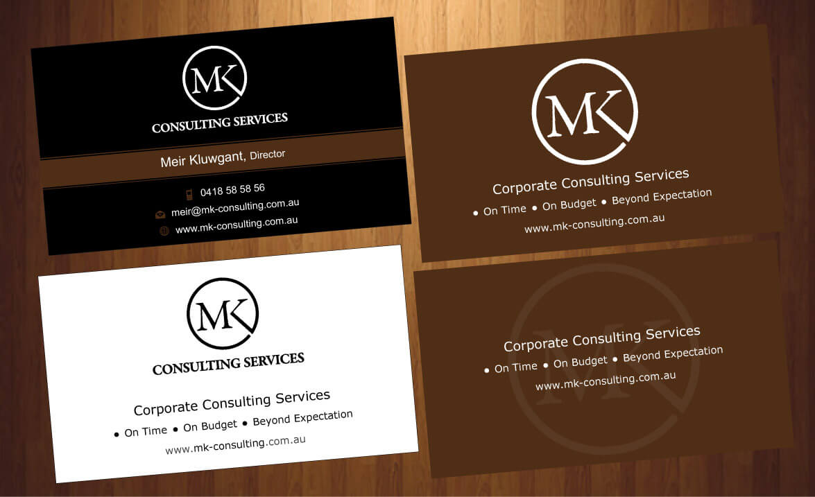 Serious professional consulting business card design for msk business card design by harmi199 for msk enterprises pl design 12427570 reheart Gallery
