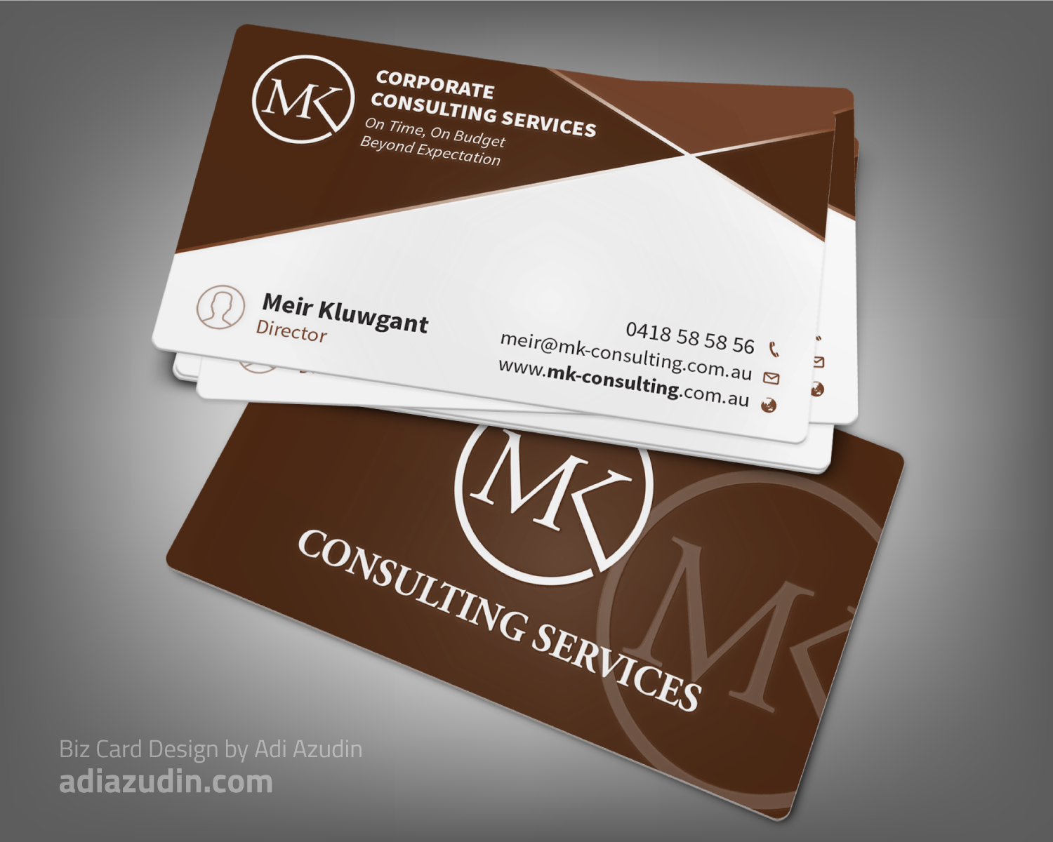 Serious professional consulting business card design for msk business card design by adiazudin for msk enterprises pl design 12401002 reheart Gallery