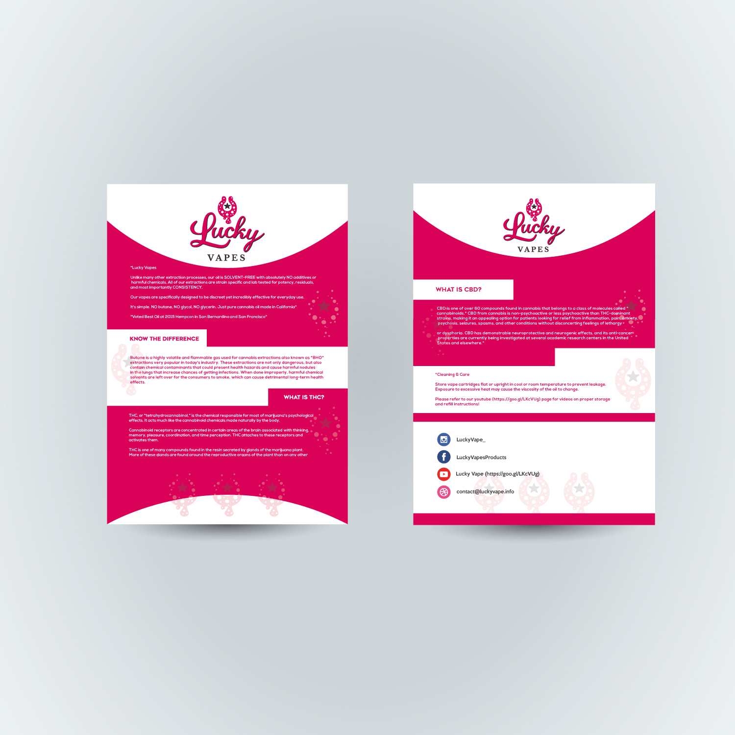 It Company Flyer Design for Lucky Products by fatih7