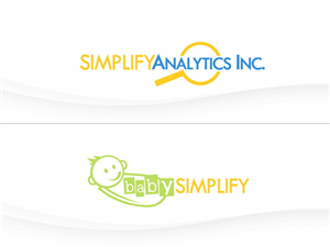 Logo Design job – babySIMPLIFY & SIMPLIFY Analytics Inc. – Winning design by DoveFendi